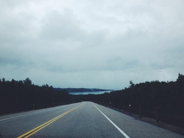 Somewhere between Thunder Bay & Sault Ste. Marie