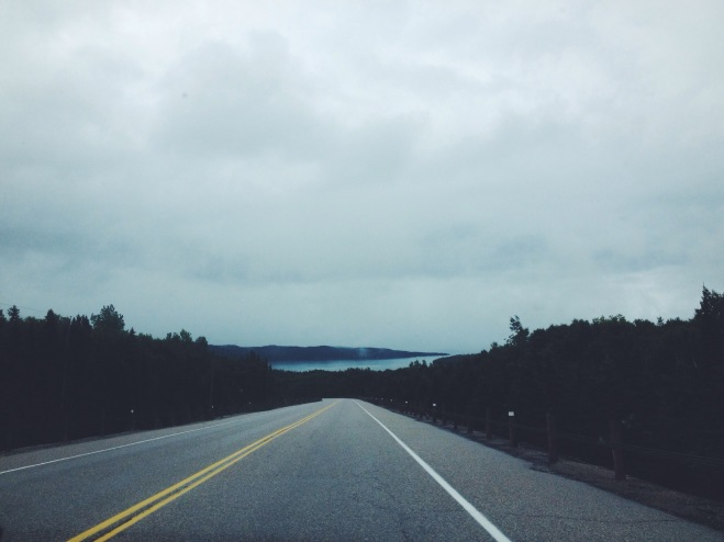 Somewhere between Thunder Bay & Sault Ste. Marie